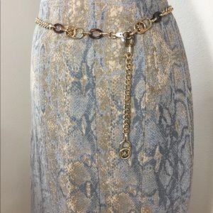 ELIE TAHARI Pencil Midi Career Skirt. Sz2 w Lining